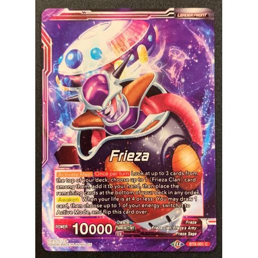 Red Metallic Genesis BT9-007 C Meta-Cooler Dragonball Super TCG